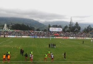 Centenario de Guaranda previo duelo Mushuc Runa vs River Ecuador