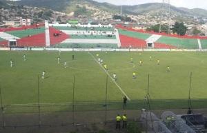 LDU Portoviejo vs Gualaceo Sc panorámica arranque de partido